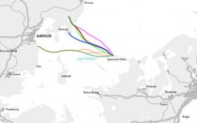 Kattegatforbindelsen – Analyse af Sjællands Odde-Jylland korridorer